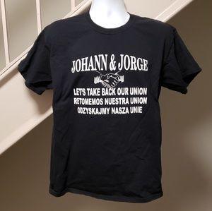 Johann & Jorge Union Mutiny Large T-Shirt
